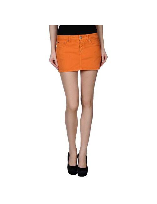 Dondup | Женская Оранжевая Джинсовая Юбка