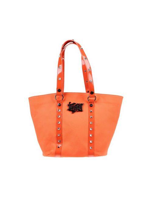 Versace Jeans Couture | Женская Оранжевая Сумка На Руку