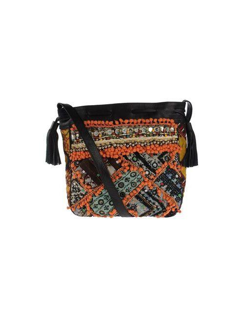 Antik Batik | Женская Чёрная Сумка Через Плечо