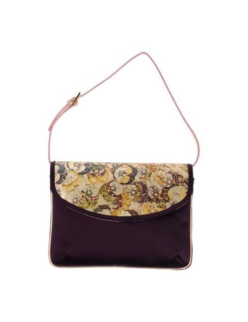Giuseppe Zanotti Design | Женская Фиолетовая Сумка На Руку
