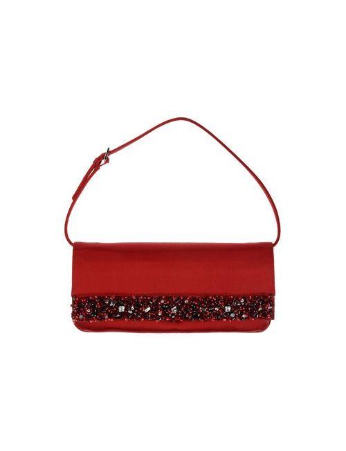 Giuseppe Zanotti Design | Женская Красная Сумка На Руку