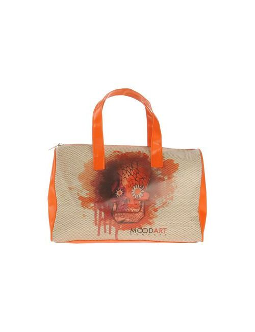 Mood Art Concept | Женская Оранжевая Сумка На Руку