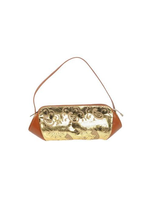 Giuseppe Zanotti Design | Женская Золотистая Сумка На Руку