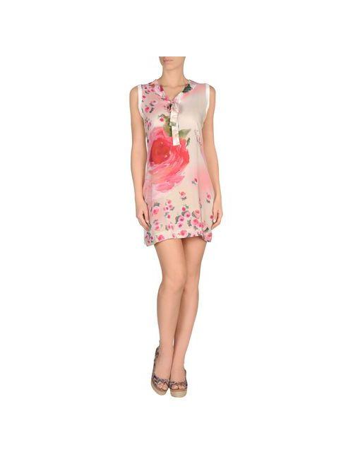 Vdp Beach | Женское Розовое Пляжное Платье