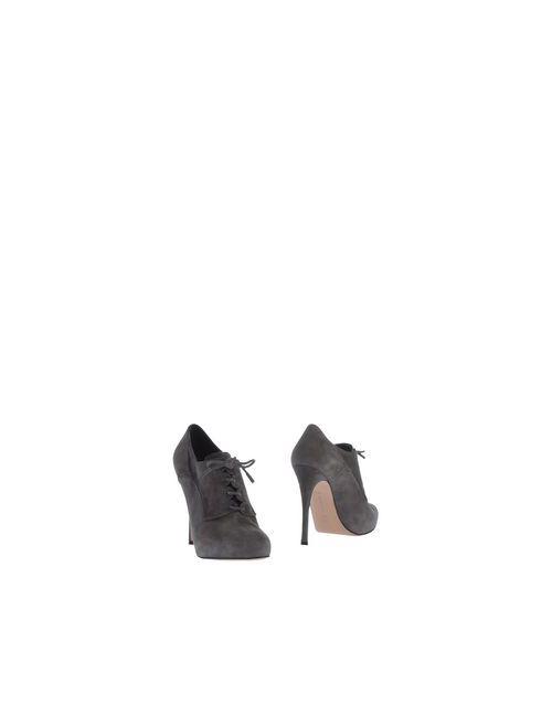 Gianvito Rossi | Женская Серая Обувь На Шнурках