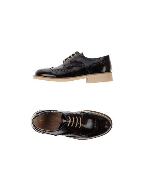 JIM MORRIS | Мужская Какао Обувь На Шнурках