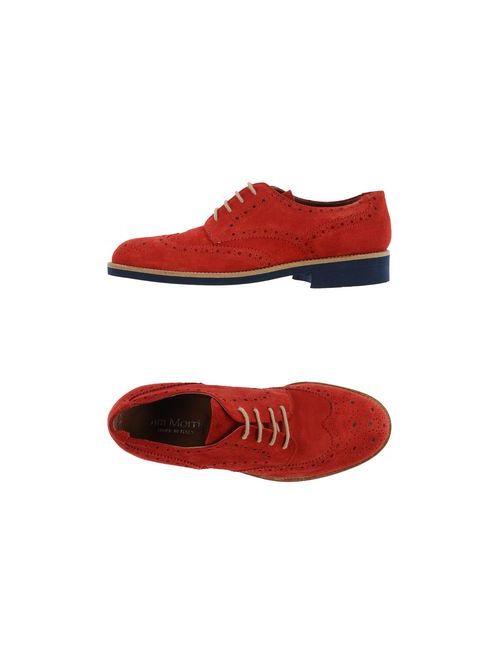 JIM MORRIS | Мужская Красная Обувь На Шнурках