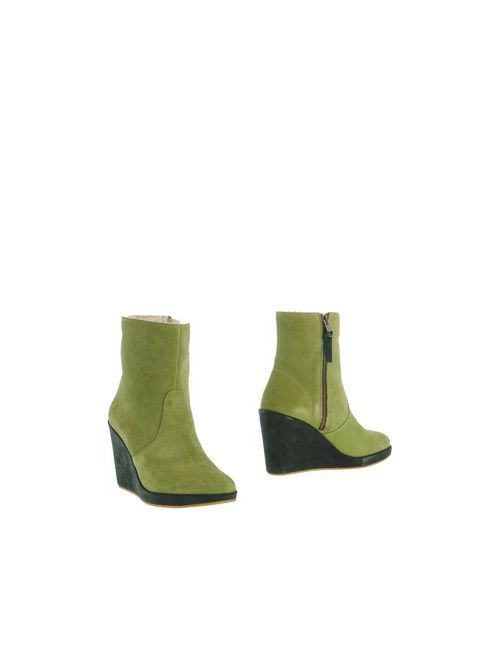 A Trois Boccaccini | Женские Зелёные Полусапоги И Высокие Ботинки