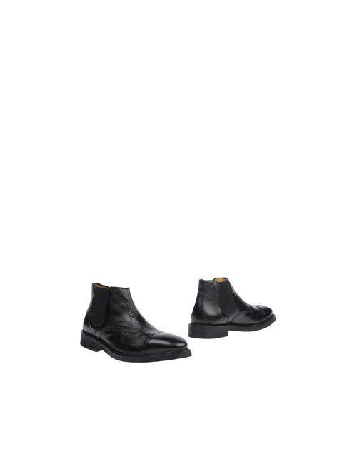 Citta' Di Milano | Мужские Чёрные Полусапоги И Высокие Ботинки