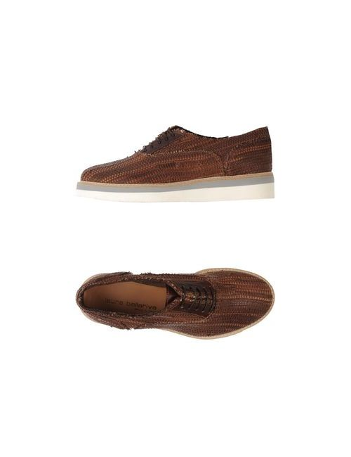 Laura Bellariva | Женская Какао Обувь На Шнурках