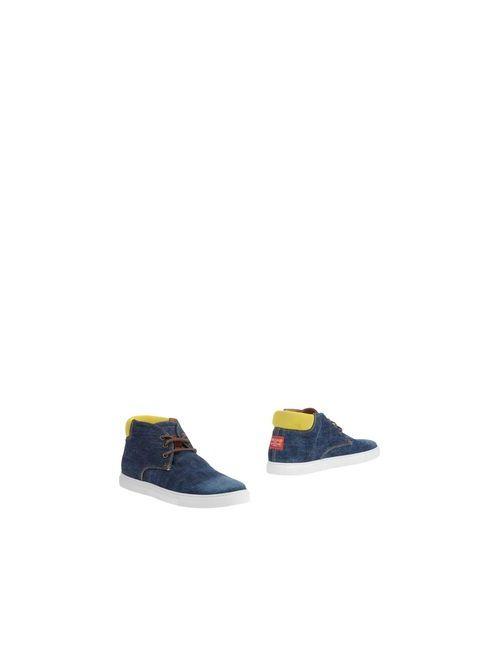 Dsquared2 | Мужские Синие Полусапоги И Высокие Ботинки