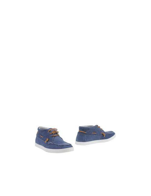 A Deep | Мужские Синие Полусапоги И Высокие Ботинки