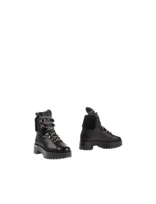 Y-3 | Женские Чёрные Полусапоги И Высокие Ботинки