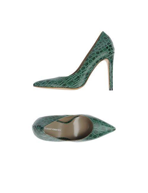 Luca Valentini | Женские Зелёные Туфли
