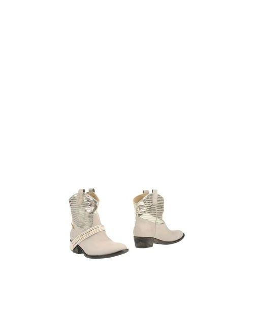 Braccialini | Женские Серые Полусапоги И Высокие Ботинки