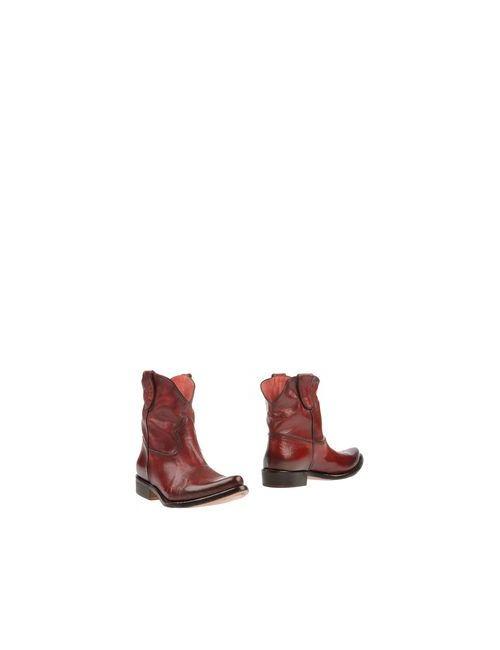 Primabase | Мужские Красные Полусапоги И Высокие Ботинки