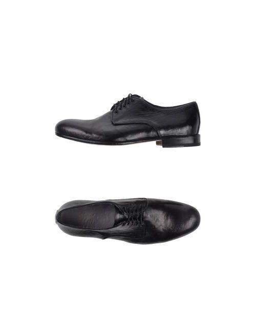 Alexander Hotto | Мужская Чёрный Обувь На Шнурках