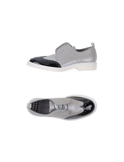Lara Hampton | Женская Серая Обувь На Шнурках
