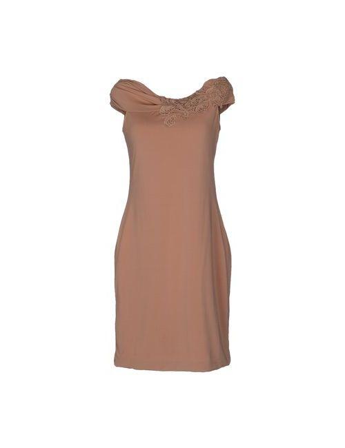 Scervino Street   Женское Телесное Короткое Платье