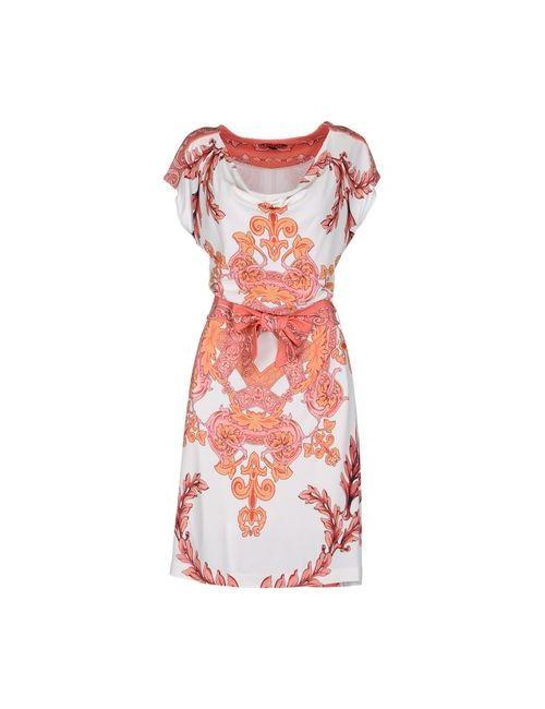 Angelo Marani | Женское Белое Короткое Платье