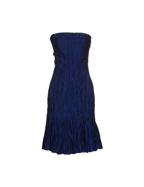 Alex Vidal | Женское Синее Короткое Платье