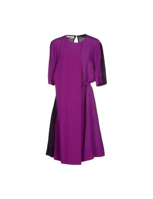 Stella Mccartney | Женское Фиолетовое Платье До Колена