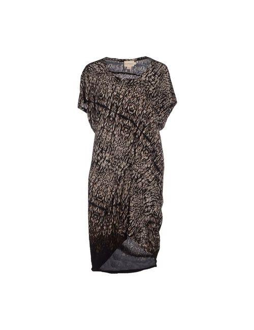 Dkny Pure | Женское Хаки Короткое Платье