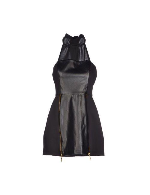 Nikamo | Женское Чёрное Короткое Платье