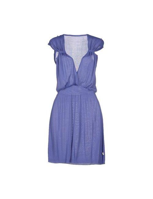 Daniele Alessandrini | Женское Фиолетовое Короткое Платье