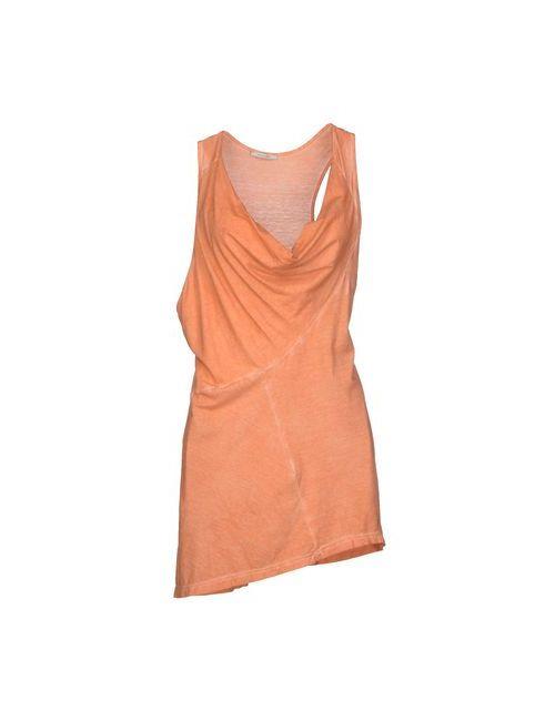 Noshua | Женский Оранжевый Топ Без Рукавов
