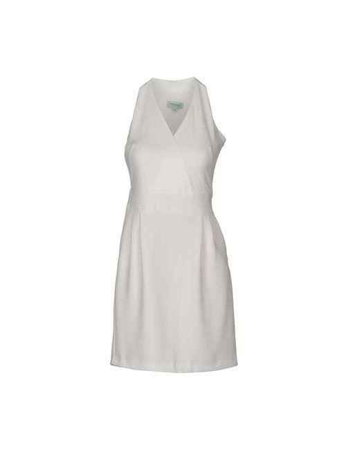 Frencheye | Женское Белое Короткое Платье