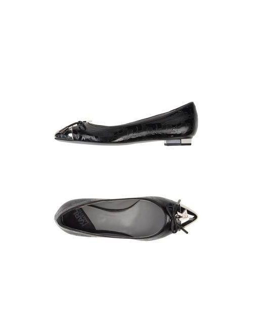 Karl Lagerfeld | Женские Чёрные Балетки