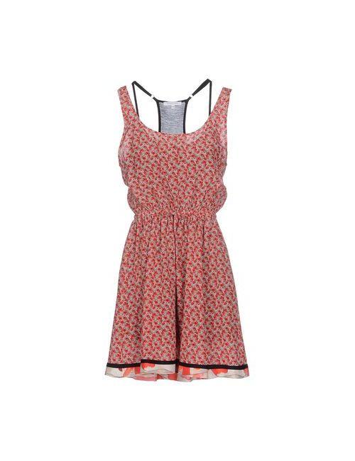 Patrizia Pepe | Женское Красное Короткое Платье