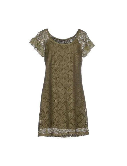 P.B. Collection   Женское Зелёное Короткое Платье