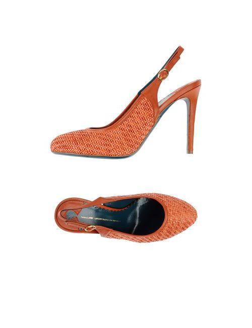 Leopoldo Giordano | Женские Оранжевые Туфли