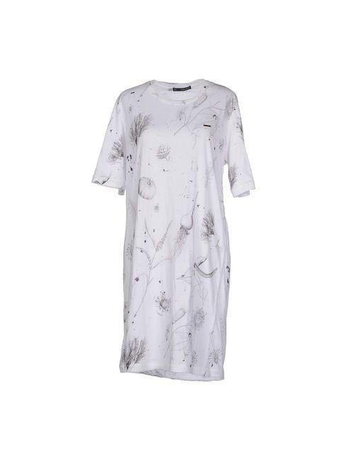 Dsquared2 | Женское Белое Короткое Платье