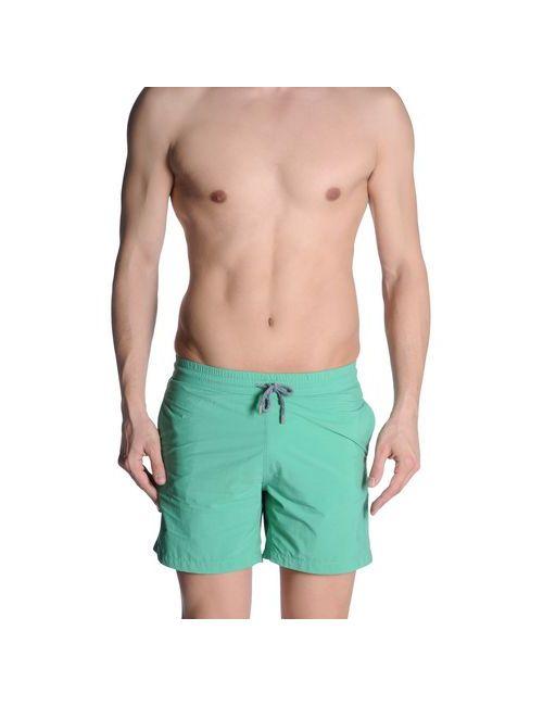 Europann | Мужские Зелёные Шорты Для Плавания