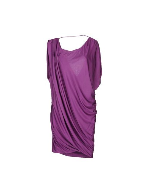 Pinko Black | Женское Фиолетовое Короткое Платье