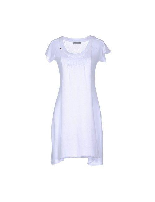 Elsamanda | Женское Белое Короткое Платье