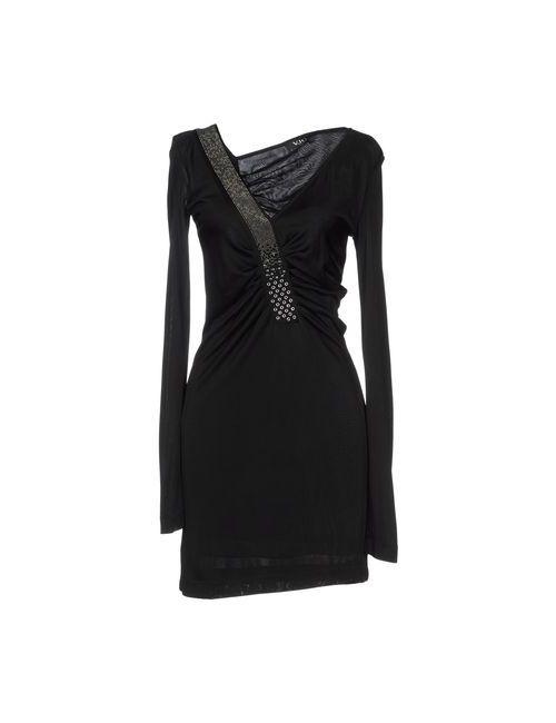 Versace Jeans Couture | Женское Черный Короткое Платье