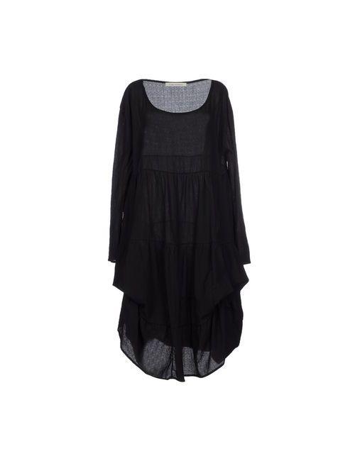 Poème Bohèmien   Женское Чёрное Платье До Колена