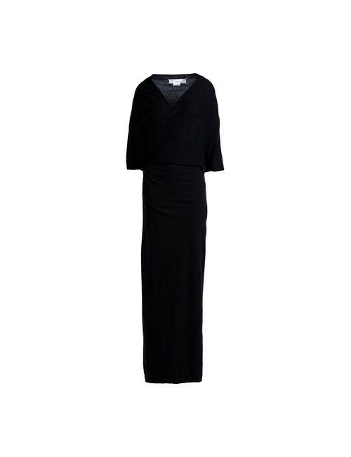 Maison Margiela | Женское Чёрное Длинное Платье