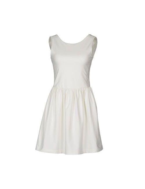 Mary Jane | Женское Белое Короткое Платье