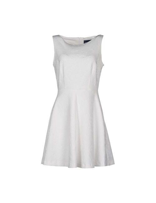 Queen Of Hearts | Женское Белое Короткое Платье