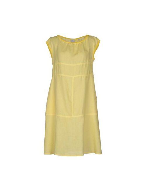 Aspesi | Женское Жёлтое Короткое Платье