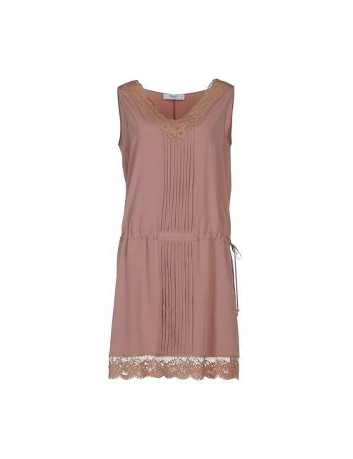 Blugirl Blumarine   Женское Коричневое Короткое Платье