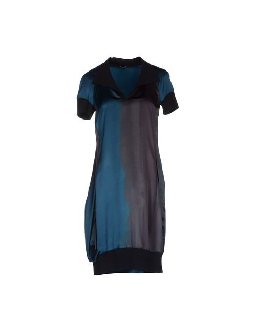 Jil Sander Navy | Женское Цвет Морской Волны Короткое Платье