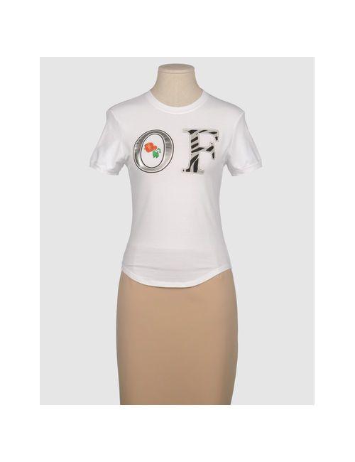Old Fashion Cafe | Женская Белая Футболка С Короткими Рукавами