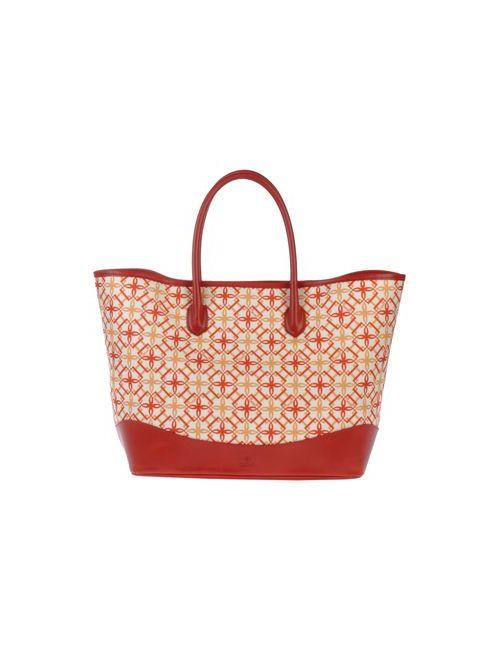 Desmo | Женская Красная Большая Сумка Из Текстиля