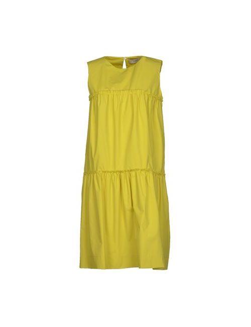 Pringle Of Scotland | Женское Зелёное Короткое Платье